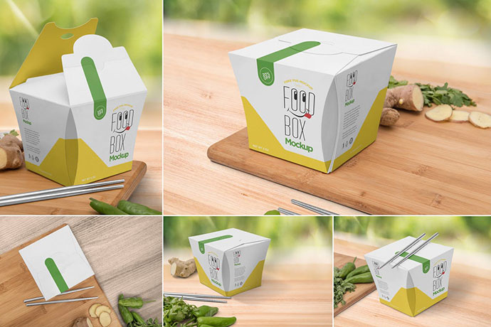 Lunch Box Mockups