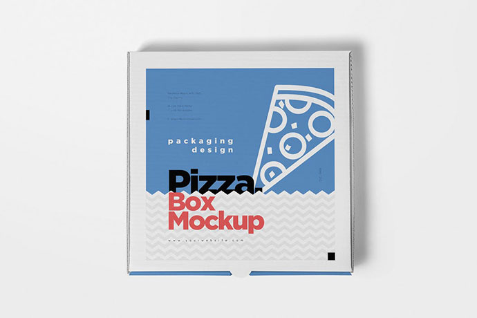 Takeaway Pizza Box Mockups
