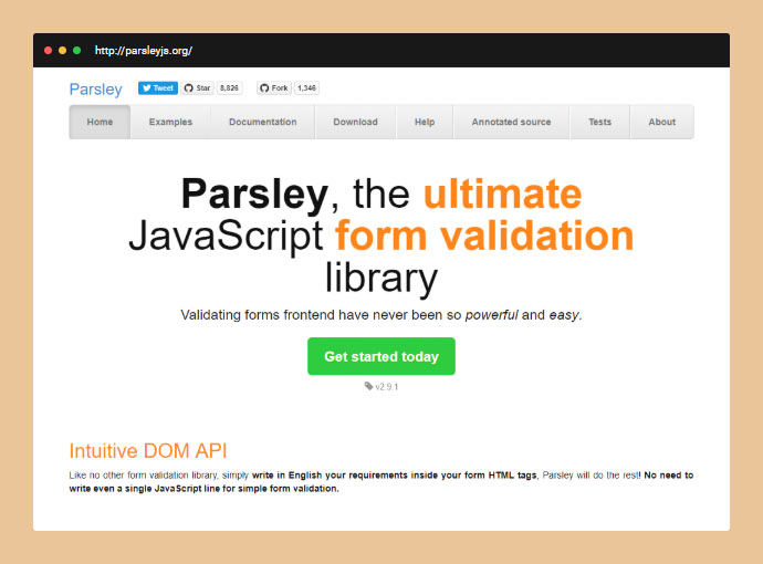 Parsley.js