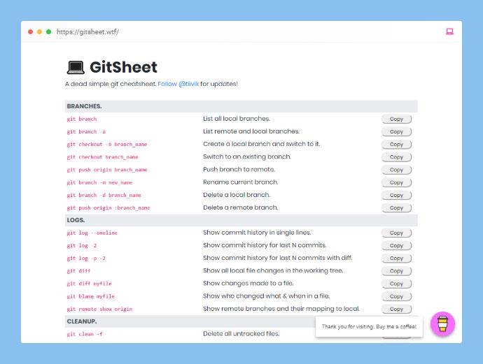 GitSheet