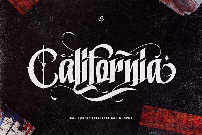 California Style + Extra slant