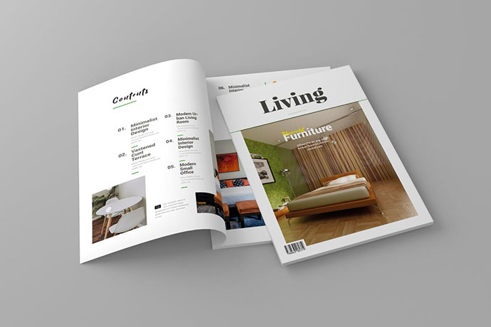 Magazine Template Vol. 8