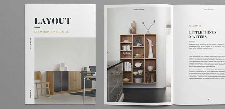 40 Compelling InDesign Interior Magazine Templates