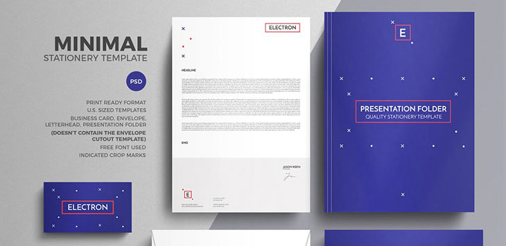 25 Striking Stationery Branding Design Templates