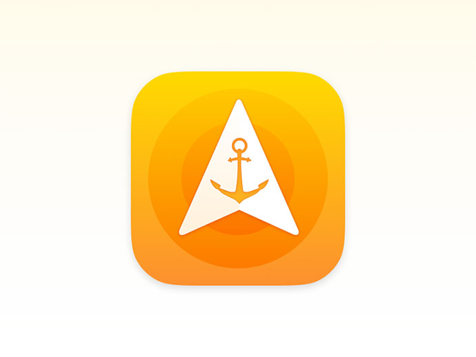 Anchor Pointer – iOS Icon Design