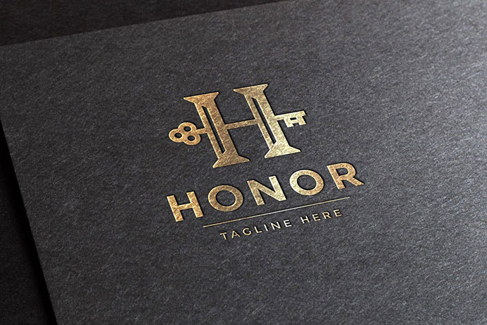 Honor Letter H Logo Template