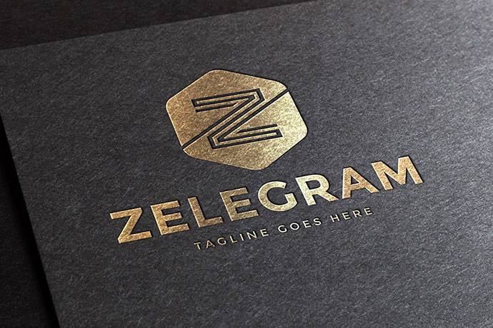 Zelegram Letter Z Logo Template