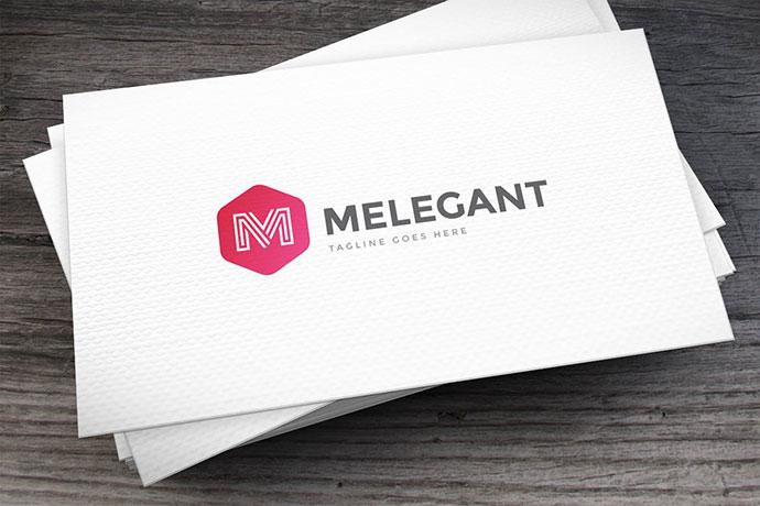 Melegant Letter M Logo Template