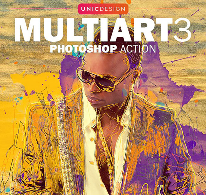 MultiArt 3 Photoshop Action