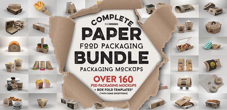 50 Tasty Psd Food Packaging Mockup Design Templates Bashooka