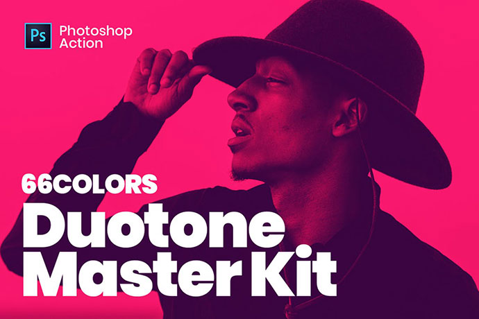 Duotone Master Kit - Super Easy Photoshop Actions