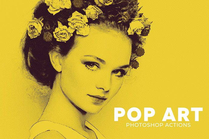 Pop Art Photoshop Actions