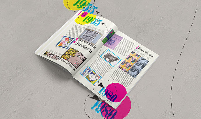 Design History Magazine   Pop Art