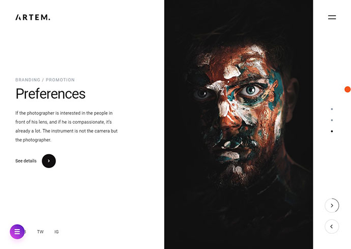 ARTEM – Digital Agency HTML5 Template