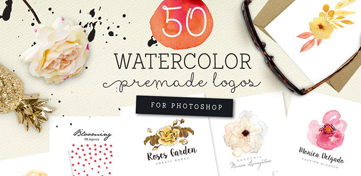 25 Most Beautiful Watercolor Logo Designs You Won't Forget