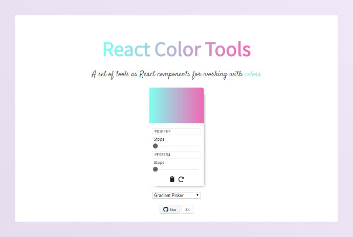 React Color-tools