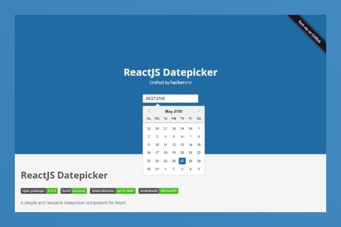 React Datepicker