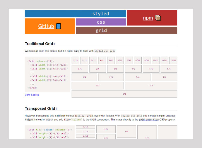 Styled Css-grid