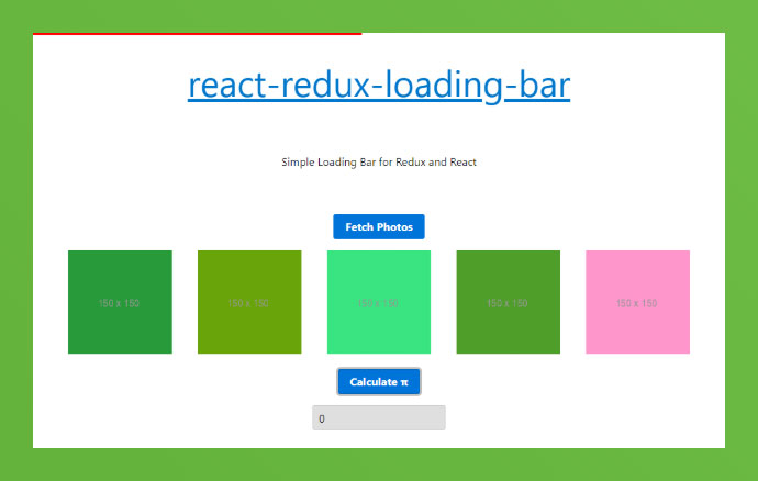 React Redux-loading-bar