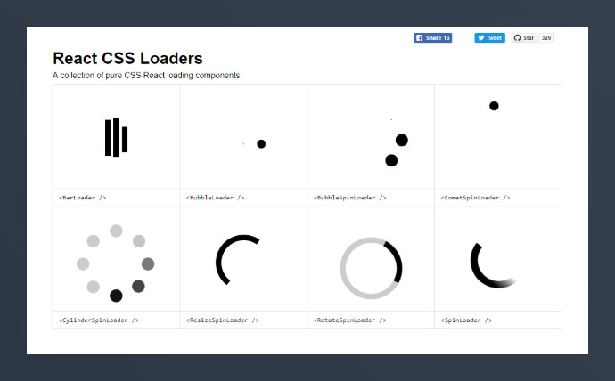 React Css-loaders