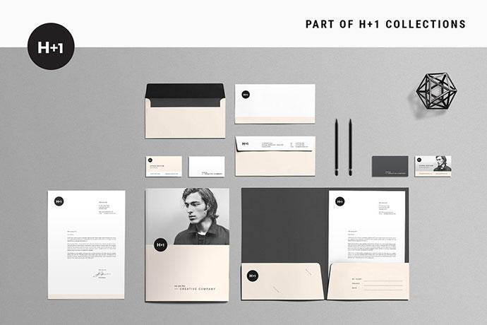25 Striking Stationery Branding Design Templates Bashooka