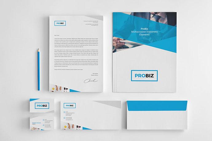 ProBiz - Stationery Elements