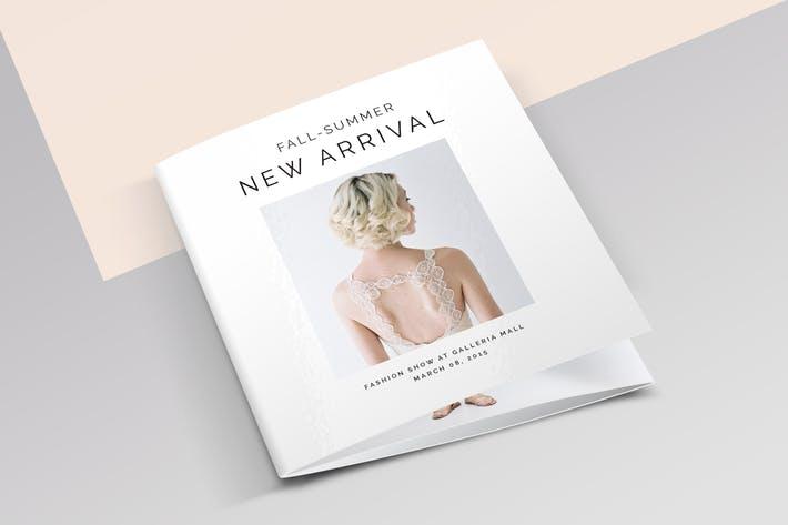 Square 3-Fold Fashion Brochure
