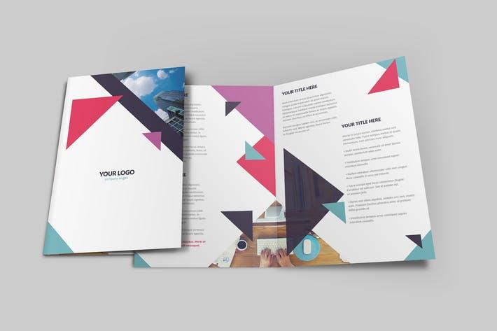 Geometric Brochure Bi-Fold