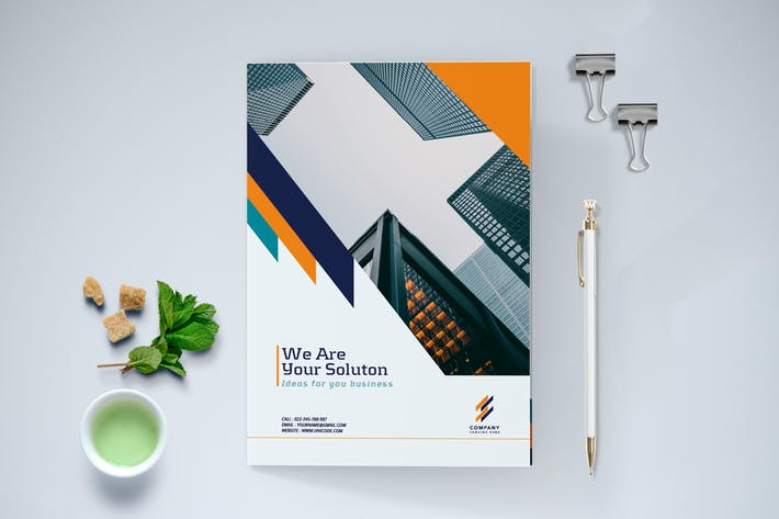 Bifold Modern Business Brochure