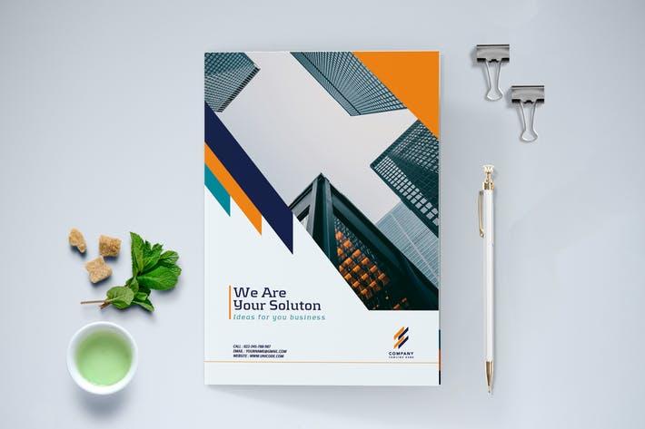 Bifold Modern Business Brochure
