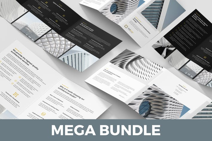 Architect – Brochures Bundle 5 in 1
