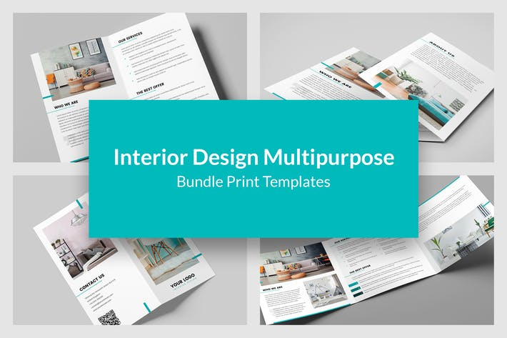 Interior Design – Bundle Print Templates 9 in 1