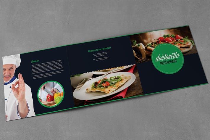 Dortoretto Brochure Tri-Fold Square