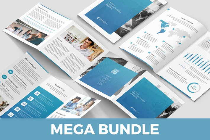 Creative Marketing – Brochures Bundle 10 in 1