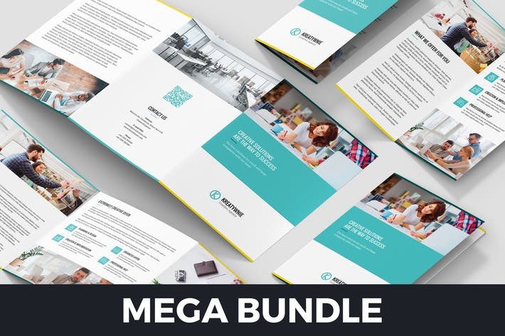 Creative Agency – Brochures Bundle 10 in 1
