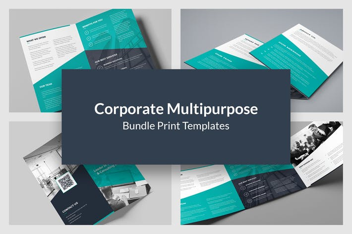 Corporate Multipurpose – Brochures Bundle 10 in 1