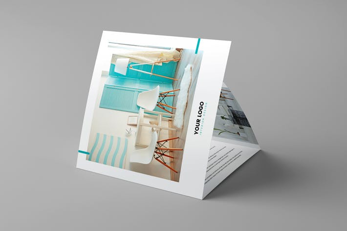 Brochure – Interior Design Tri-Fold Square