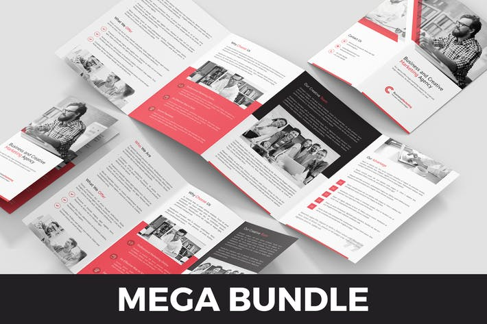 Business Marketing – Brochures Bundle 10 in 1