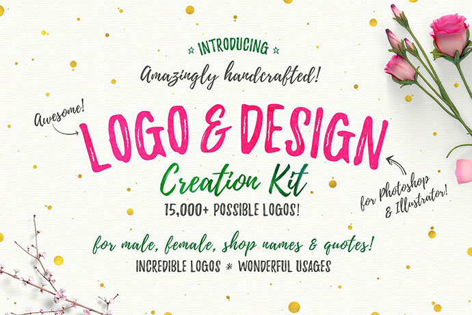 Awesome Logo & Design Creation Kit