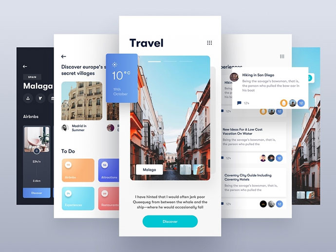 Travel App Light