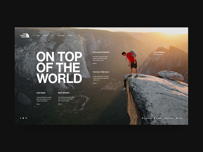 The North Face Alex Honnold