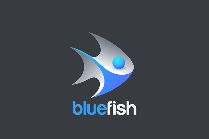 Fish Logo 3d Design Vector