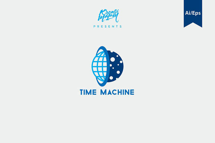 Time Machine Logo Template