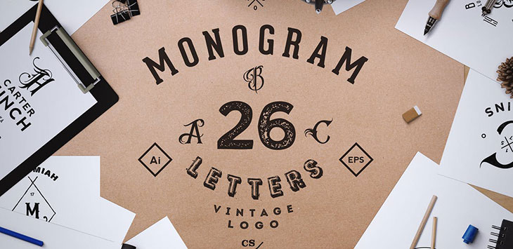 25 Superb Monogram Logo Design Templates