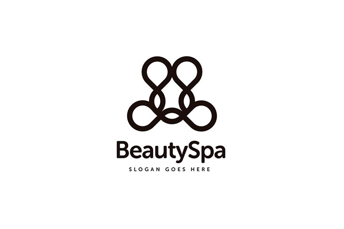 Beauty Spa Logo Template