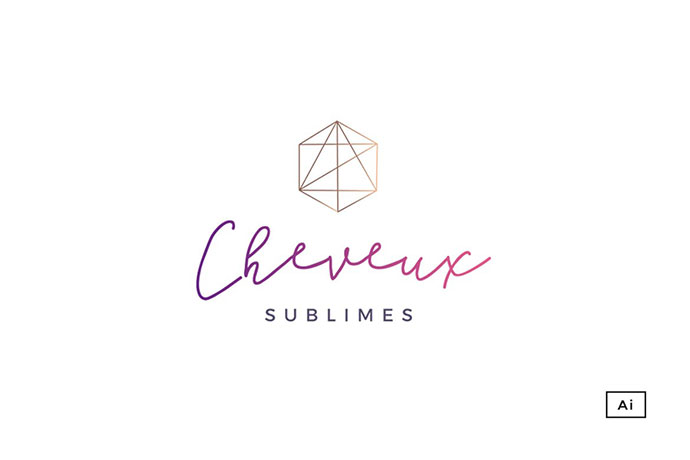 Glamour Brand Logo Template