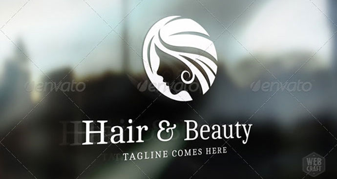 Health & Beauty Logo Template