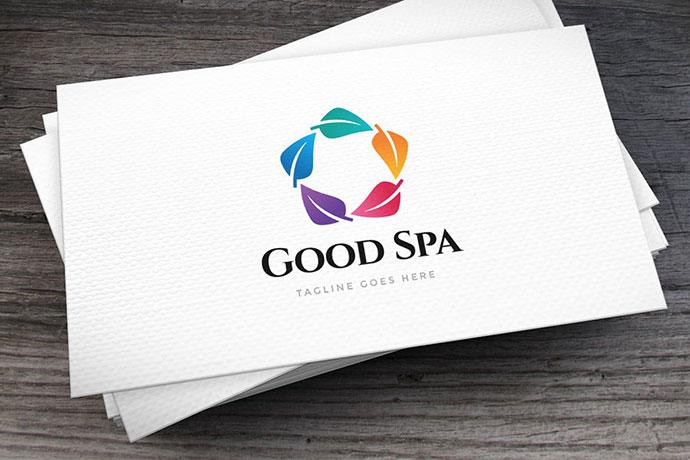 Good Spa Logo Template