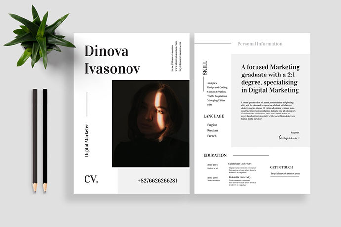 Resume / CV Vol. 18