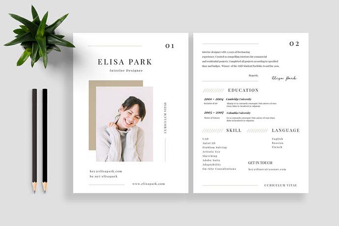 Resume / CV Vol. 19